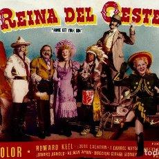 Cine: LA REINA DEL OESTE- DOBLE- IMPECABLE. Lote 122174659