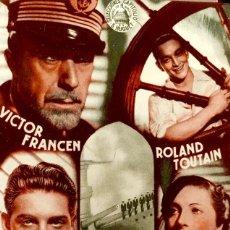 Cine: LA RUTA SIN FIN- DOBLE- DIRECTOR MARCEL L'HERBIER- SIN PUBLICIDAD . Lote 122180215