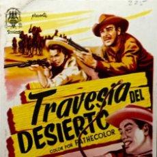 Cine: TRAVESIA DEL DESIERTO- CINE CAMPOS ELISEOS (GIJÓN). Lote 122265083