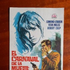 Cine: EL CARNAVAL DE LA MUERTE- SIN PUBLICIDAD _MA. Lote 122266775