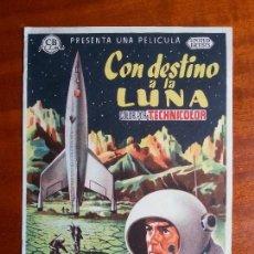 Cine: CON DESTINO A LA LUNA- SIN PUBLICIDAD _MA. Lote 122266871