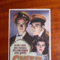Cine: CALCUTA- CON PUBLICIDAD GRAN TEATRO _MA. Lote 122267147