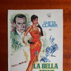 Cine: LA BELLA MIMI- SIN PUBLICIDAD _MA. Lote 122267779