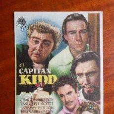 Cine: EL CAPITÁN KIDD- SIN PUBLICIDAD _MA. Lote 122268183