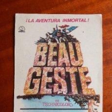 Cine: BEAU GESTE- SIN PUBLICIDAD _MA. Lote 122270471