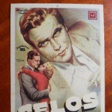 Cine: CELOS- CON PUBLICIDAD CINE AVENIDA _MA. Lote 122270787