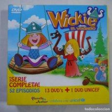 Cine: WICKIE EL VIKINGO. SERIE COMPLETA - 13 DVDS. Lote 122308975