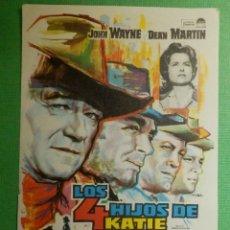 Cine: FOLLETO - PELÍCULA - FILM - LARGOMETRAJE - CINE - KING RAT - SIN PUBLICIDAD. Lote 122317391