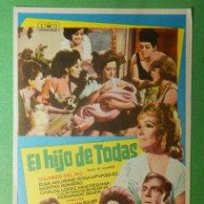 Cine: FOLLETO - PELÍCULA - FILM - LARGOMETRAJE - CINE - EL HIJO DE TODAS - SIN PUBLICIDAD. Lote 122317531