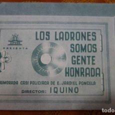 Cine: PROSPECTO DE CINE ESPAÑOL. Lote 122445319
