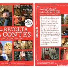 Cine: LA REVOLTA DELS CONTES.. Lote 122485643