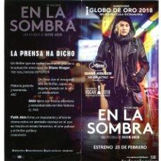 Cine: EN LA SOMBRA, DE FATIH AKIN. 10 X 21 CMS.. Lote 190482645