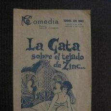 Cine: LA GATA SOBRE EL TEJADO DE ZINC -VER FOTOS-(C-4209). Lote 122811707