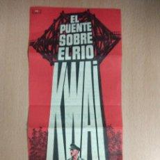 Cine: EL PUENTE SOBRE EL RIO KWAI - FOLLETO DE MANO CINE. Lote 122985083