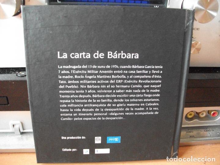 Cine: LA CARTA DE BARBARA. UNA PELICULA DE RAMON LLUIS BANDE.LIBRO - DVD.BARBARA GARCIA. ASTURIAS PEPETO - Foto 2 - 123115855