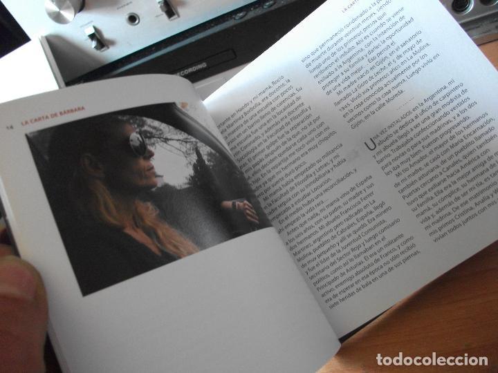Cine: LA CARTA DE BARBARA. UNA PELICULA DE RAMON LLUIS BANDE.LIBRO - DVD.BARBARA GARCIA. ASTURIAS PEPETO - Foto 3 - 123115855