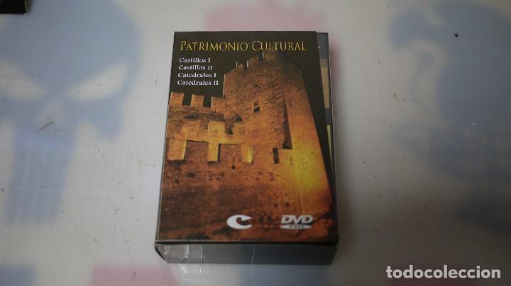 PATRIMONIO CULTURAL, DVD, CASTILLOS, CATEDRALES, EDICIONES CULTURAL (Cine - Folletos de Mano - Documentales)