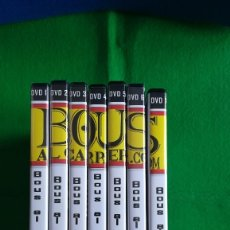 Cine: COLECCION COMPLETA DE 7 DVDS DE BOUS AL CARRER 2012. Lote 117972979