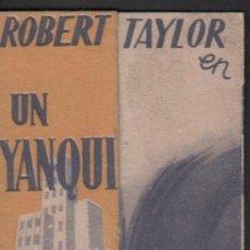 Cine: UN YANQUI EN OXFORD - ROBERT TAYLOR / PROGRAMA DOBLE SIN PUBLICIDAD RF-1436 . Lote 123315383