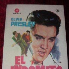 Cine: EL INDOMITO. ELVIS PRESLEY. SIN PUBLICIDAD. Lote 123374899