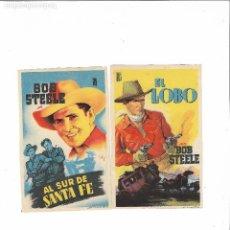 Cine: BOB STEELE ( SIN PUBLICIDAD - SOLIGO ). Lote 123572599