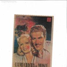 Cine: LA MUCHACHA DE MOSCU ( CINEMA PALACIO - CONCHITA MONTES ). Lote 123575703