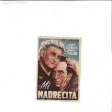 Cine: MI MADRECITA ( SIN PUBLICIDAD ). Lote 123589047