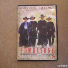 Folhetos de mão de filmes antigos de cinema: TOMBSTONE - KURT RUSSELL, VAL KILMER, SAM ELIOT, BILL PAXTON - 1993 - DVD - P. Lote 124021795