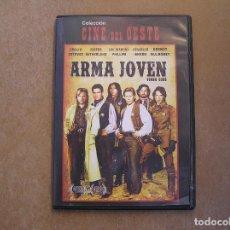 Folhetos de mão de filmes antigos de cinema: ARMA JOVEN - COLECCION CINE DEL OESTE - IDAFILMS 2012 - DVD - P. Lote 124024071