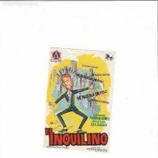 Cine: EL INQUILINO ( FERNANDO FERNAN GOMEZ - SIN PUBLICIDAD ). Lote 124042779