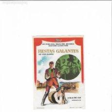 Cine: FIESTAS GALANTES - LESFETES GALANTES ( JEAN - PIERRE CASSEL - SIN PUBLICIDAD ). Lote 124053243