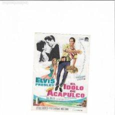 Cine: EL IDOLO DE ACAPULCO ( ELVIS PRESLEY - RIALTO ). Lote 124067883