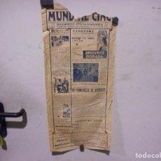 Cine: FOLLETO O PROGRAMA DE CINE DE 1933. Lote 124224135