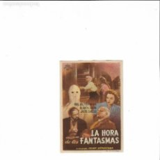 Cine: LA HORA DE LOS FANTASMAS ( DISTRIBUIDORA APARICIO -CINE IMPERIAL ). Lote 124235571