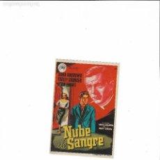 Cine: NUBE DE SANGRE ( FUSTER - CINE ASTORIA ). Lote 124235747