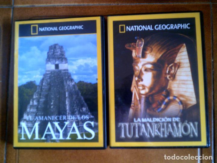 DVD DOCUMENTALES NATIONAL GEOGRAPHIC (Cine - Folletos de Mano - Documentales)
