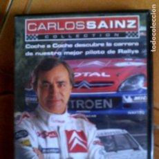 Cine: DVD CARLOS SAINZ. Lote 124287683