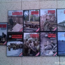 Cine: LOTE DOCUMENTALES SEGUNDA GUERRA MUNDIAL EN DVD. Lote 124459811