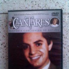 Cine: PELICULA CANTARES DE ANTONIO MOLINA. Lote 124461387
