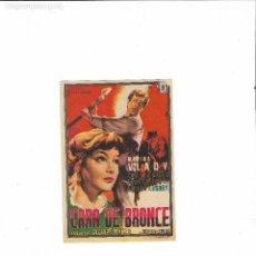 Cine: CARA DE BRONCE ( J.L CHICLANA - RIALTO ). Lote 124506339