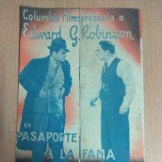 Cine: VIVA VILLA 1935. CINE. FOLLETO DE MANO DOBLE.. Lote 124561371
