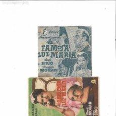 Cine: LA FAMOSA LUZ MARIA ( DOBLE CINE ALAMEDA - MANOLO MORAN ). Lote 124651559