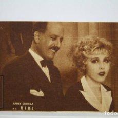 Cine: PROGRAMA DE CINE SIMPLE / TARJETA - KIKI KI-KI / ANNY ONDRA, PIERRE RICHARD - AÑO 1933. Lote 125038367