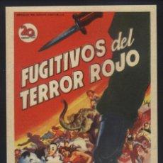 Cine: P-7502- FUGITIVOS DEL TERROR ROJO (MAN ON A TIGHTROPE) (SOLIGÓ) SALON SETABENSE - JATIVA. Lote 134058387