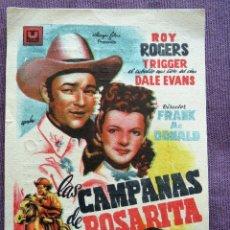 Cine: LAS CAMPANAS DE ROSARITA. Lote 125185079