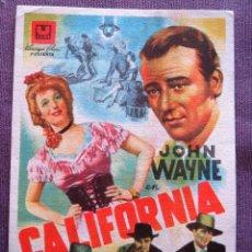 Cine: CALIFORNIA. Lote 125186111
