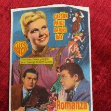 Cine: ROMANZA EN ALTA MAR. DORIS DAY, MICHAEL CURTIZ. TEATRO CAMPOAMOR OVIEDO. Lote 125887975