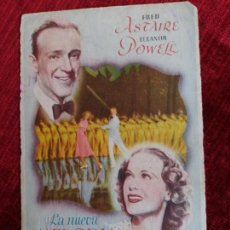 Cine: LA NUEVA MELODIA DE BROADWAY, FRED ASTAIRE, ELEANOR POWELL. CINE MARINA. Lote 125890899