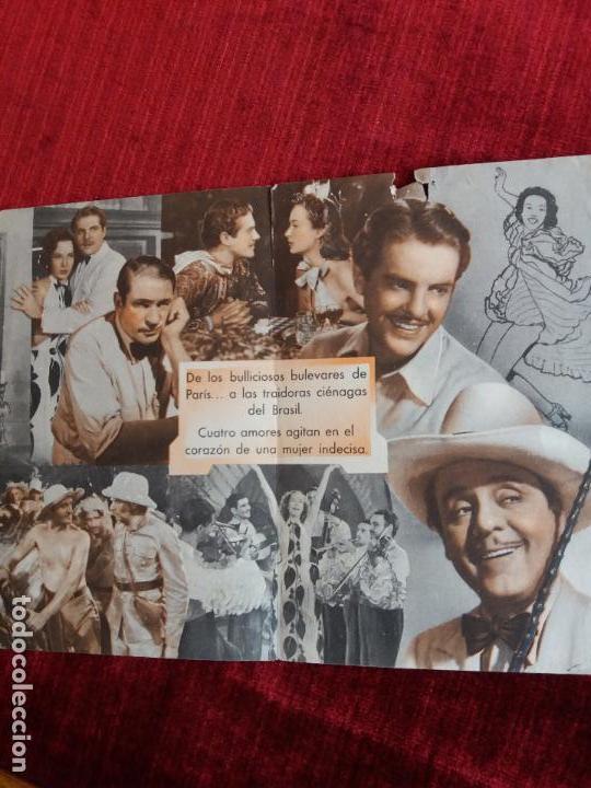 Cine: NOCHES EN RIO. BASIL RATHBONE, LEO CARRILLO. CINEMA PROYECCIONES VALDEPEÑAS - Foto 2 - 125933443