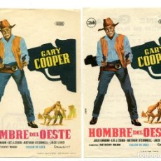 Cine: HOMBRE DEL OESTE, CON GARY COOPER.. Lote 126136431